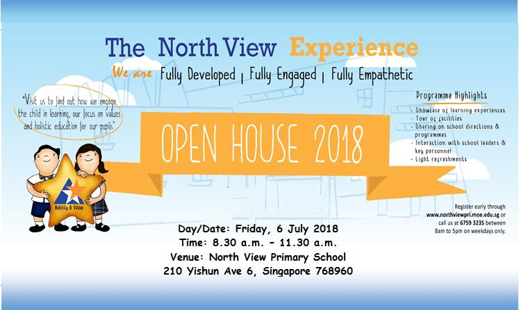 North View Primary Open House 2018